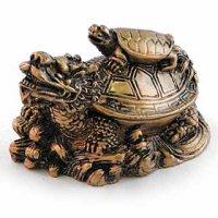 Драконо-черепаха бронза