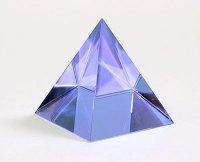 Пирамида сиреневая 5см