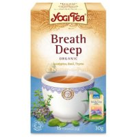 Yogi tee Breathe deep