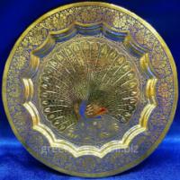 Тарелка бронза